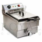10L Fryer with tap