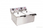 Double fryer 2x8L