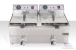 Double fryer 26 liters
