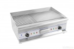 Electric Griddle - 75 cm - ribbed