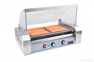 Teflon Roller warmer for hot dogs - 7 rolls