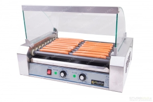 Teflon Roller warmer for hot dogs - 9 rolls