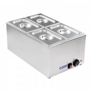 Bain marie 1/3 three container, lid  (1) (1)
