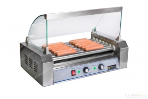 Roller warmer for Hot Dogs - 7rods