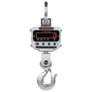 Crane scales to 5000 kg with an accuracy of 1kg