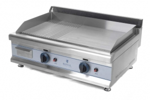 Electric griddle 60 cm for gas